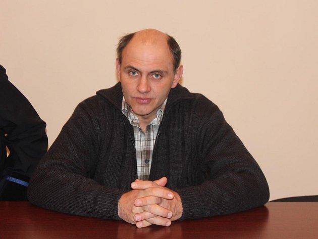 Zdeněk Kroupa u klatovského soudu
