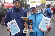 Eva a Martin Chladovi posbírali už řadu sportovních úspěchů.