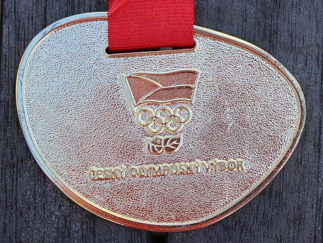 Cyklista Matyáš Fiala získal na olympiádě dětí a mládeže vBrně čtyři zlaté a jednu bronzovou medaili