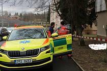 Žena spáchala v Klatovech sebevraždu skokem z okna tamní polikliniky.