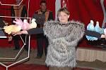 Vystoupení cirkusu Berosini v Klatovech
