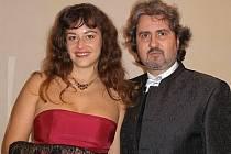 Marek Dobrodinský s manželkou Veronikou.