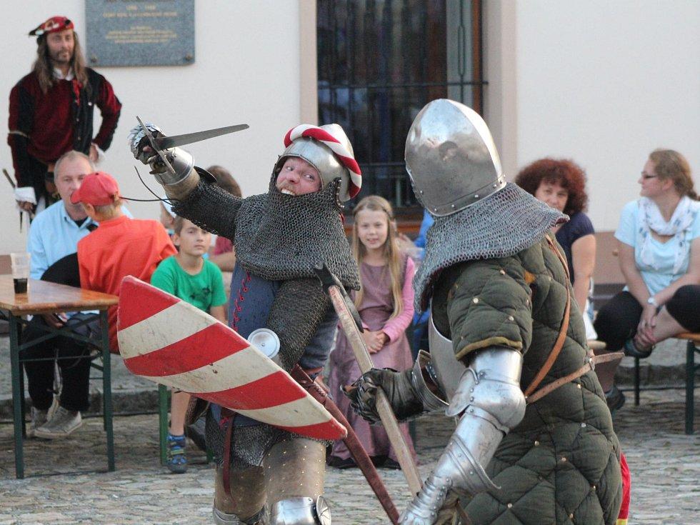 Šumavské Kašperské Hory v době Karla IV.