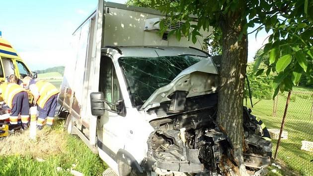 Dopravní nehoda u Koryt