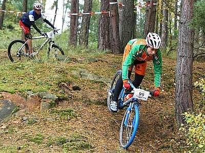 S číslem 99 závodil již pětinásobný vítěz kategorie muži 1 Michal Janeček.