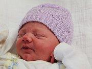 Zuzana Lukášová z Letin (3000 g, 50 cm) přišla na svět v klatovské porodnici 30. prosince v 1.33 hodin. Na svět Zuzanku přivítali rodiče Eva a Pavel společně. Doma se na sestřičku těší Adélka (8).