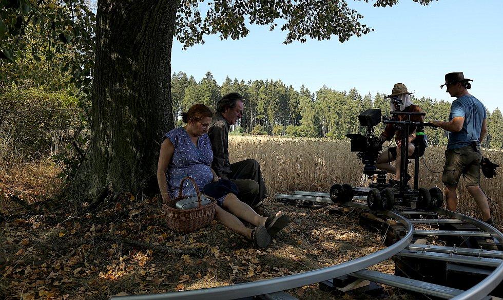 Natáčení filmu Cesta domů.