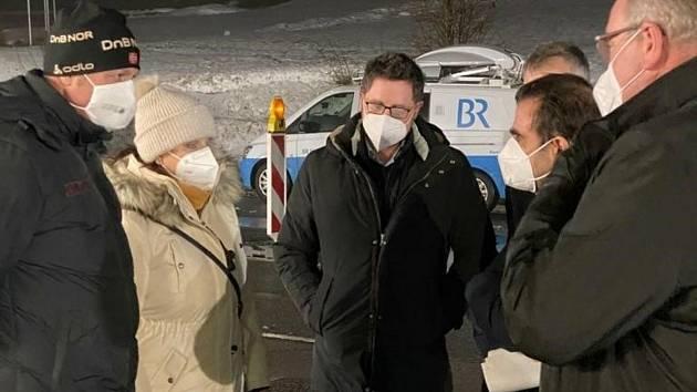 Jednání na hraničním přechodu Lísková – Höll.