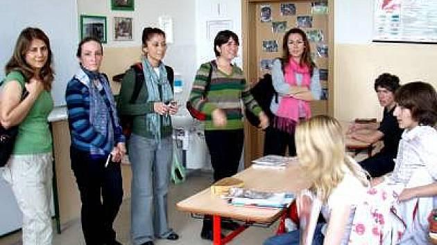 Turecké učitelky na ZŠ v Kašperských Horách