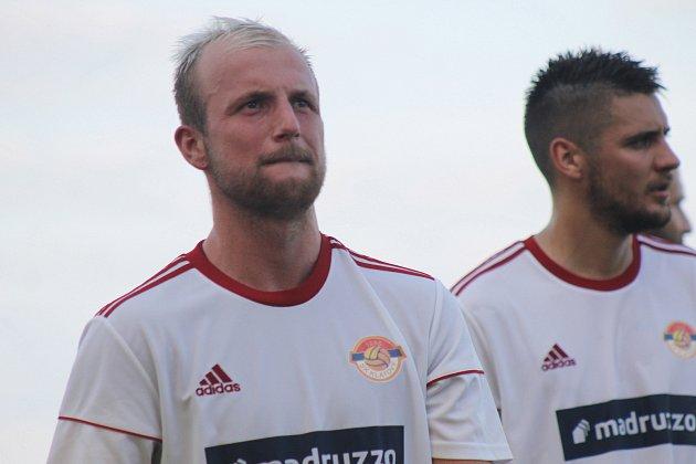 Michal Lukeš vstřelil proti Hořovicím svou třetí branku vsezoně.