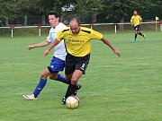Fotbal, příprava: Mochtín (žlutí) - Sušice