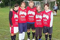 Vítězem v turnaji žen se ve Zborovech stalo družstvo Čiko team.