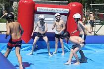 Zahájení provozu nových sportovních atrakcí na koupališti v Klatovech