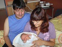 Tomáš Hrubý z Horšic (3550 gramů, 51 cm) se narodil v klatovské porodnici 4. července v 19.25 hodin. Rodiče Petra a Luboš věděli dopředu, že Verunka (6) bude mít brášku.