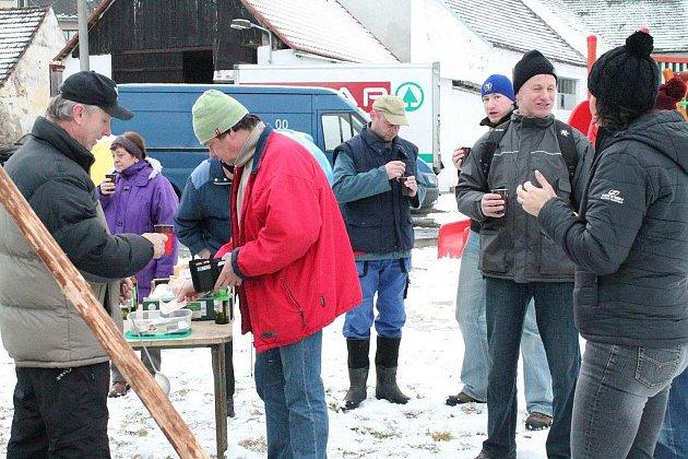Silvestrovský pochod za Kelty na Sedlo v Podmoklech
