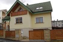 Dům, kde k přepadení podnikatele mělo dojít.