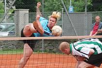 1. liga: TJ Sokol Horažďovice VYNK Hapon (modré dresy) - AC Zruč-Senec 2004 6:1