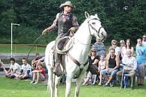 Cowboy show ve Strážově