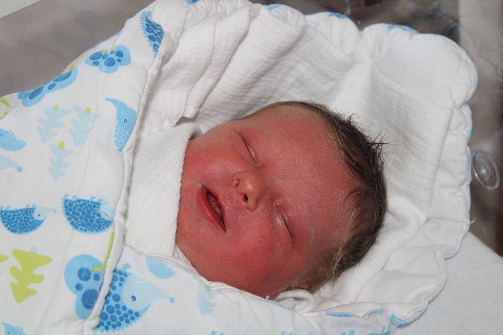 Jasmína Cristinoi ze Kdyně (3560 g, 49 cm) se narodila v klatovské porodnici 31. července v 10.45 hodin. Rodiče Elena a Andrei věděli, že Gabriel (9) a Justýnka (3) budou mít sestřičku.  foto: Deník/Lucie Kohoutová