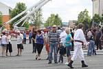 3. celorepublikový sraz stříkaček v Klatovech a oslava 140 SDH Klatovy