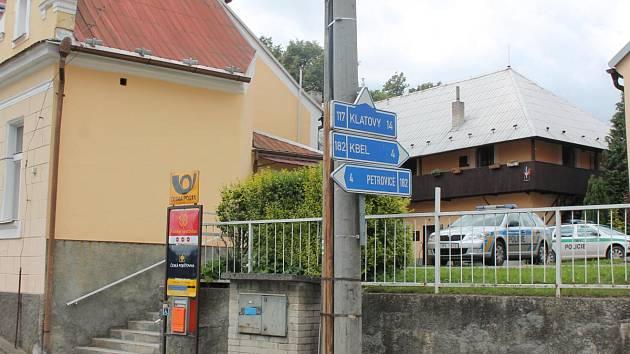 Pošta v Měčíně