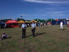 Policisté se samopaly na akci  Hrady CZ.