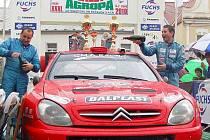 Cíl XXXI. Fuchs Oil Rally Agropa na horažďovickém náměstí