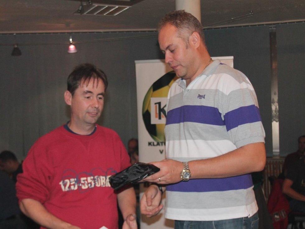 Vyhlášení 16. ročníku OPEN ligy KARPEM 2012.