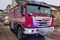 Výjezd hasičů do Sola v Sušici.