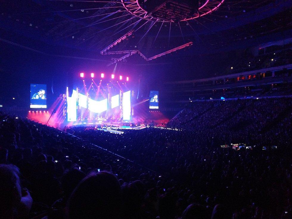 Koncert Marka Ztraceného v O2 areně