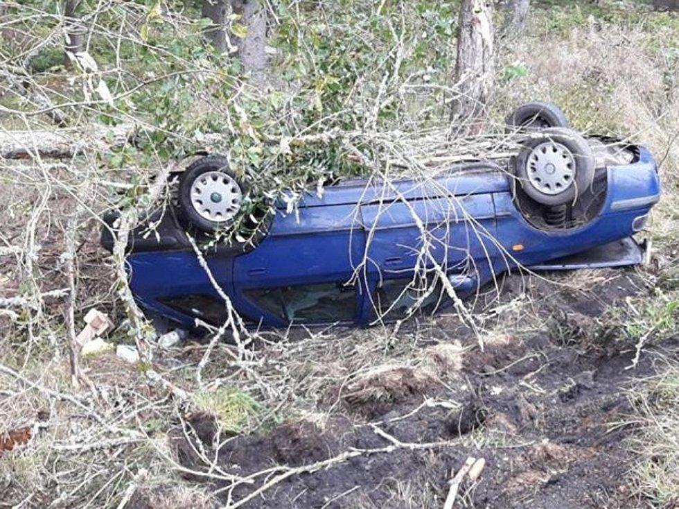 Nehoda u Hartmanic.