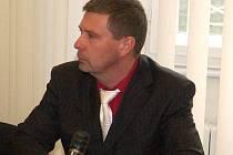 Pavel Richtář u klatovského soudu