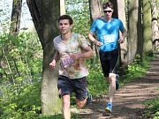 Jarní přespolní běh bystřickým parkem