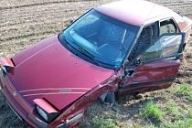 Nehoda u obce Obytce