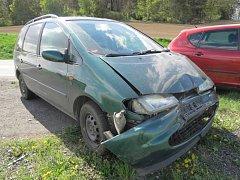 Nehoda u Dehtína.