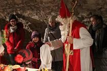Vánoční prohlídky na Rabí