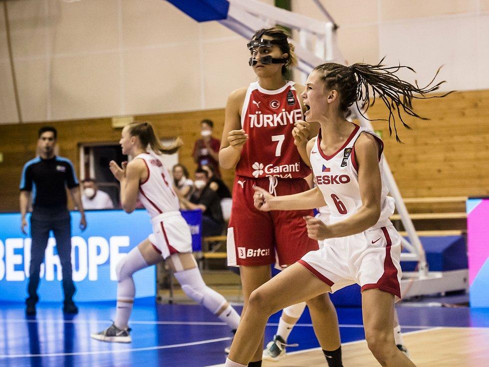 Česko vs. Turecko 60:59.