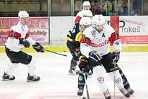 2. liga 2016/2017: SHC Klatovy (bílé dresy) - HC BAK Trutnov 3:2