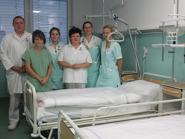 Chirurgické oddělení v nové Klatovské nemocnici