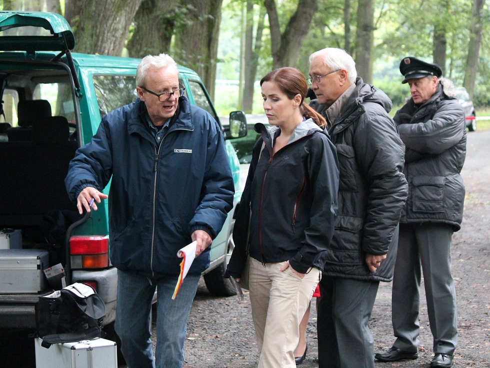 Natáčení seriálu Policie Modrava v Klatovech 2016.
