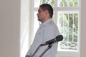 Branislav Horňák u klatovského soudu.