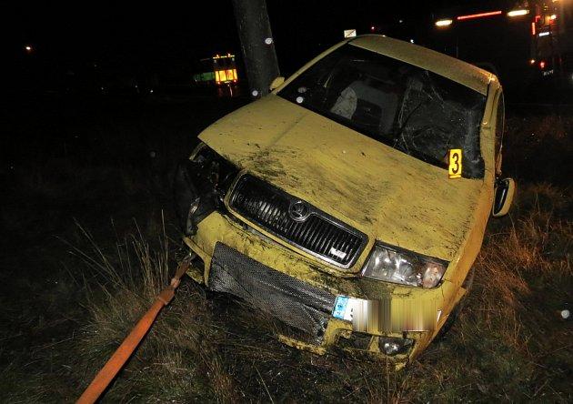 Nehoda v šumavské Filipově Huti.