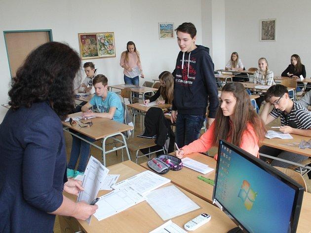 Přijímací zkoušky do čtyřletého studia na Gymnáziu Jaroslava Vrchlického Klatovy
