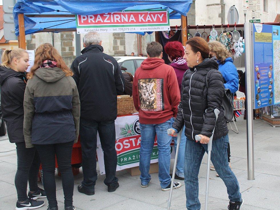 Svatomartinský jarmark v Horažďovicích.