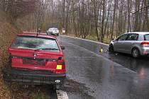 Dopravní nehoda u Kašovic