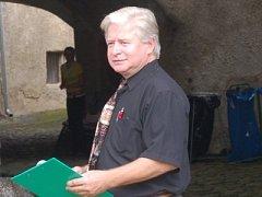 Dešenický starosta Jan Rejfek