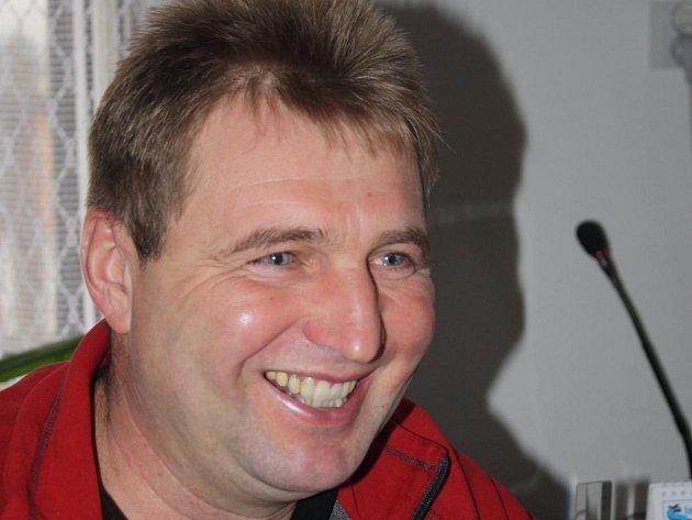 Starosta Velkých Hydčic Jaroslav Portášik