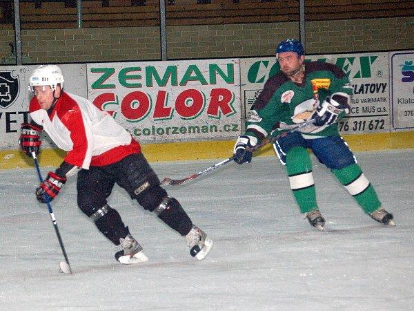 Hokejisté lubského Startu porazili v Klatovech domažlickou Flóru 7:3