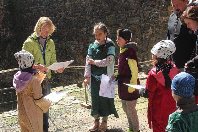 Hrad Švihov, velikonoční prohlídky pro děti