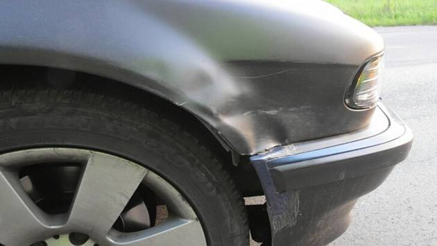 Nehoda cyklistky v Klatovech